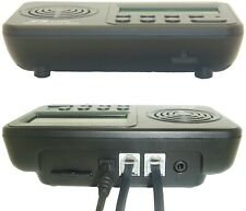 Grabadora digital de llamada telefónica automática de pantalla LCD 2 vías conversación de voz