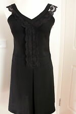 Stage of Playlord black dress size 2, Eur 38 or Aus 8 Used