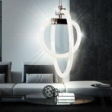30 W LED ringe hänge Lampe decken Wohn ESS Zimmer leuchte DESIGNER Beleuchtung