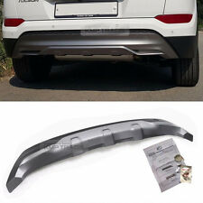 Rear Bumper Silver Body Skid Plate Lip Diffuser Guard for HYUNDAI 2016-18 Tucson