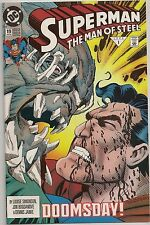 DC Comics 1993 Superman Man of Steel #19 VF Doomsday