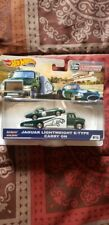 Hot Wheels Team Transport Jaguar Lightweight E-Type Carry on new in package