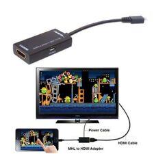 Adaptador de MHL a HDMI 1080P HDTV para Samsung Galaxy, Sony, HTC & Nokia