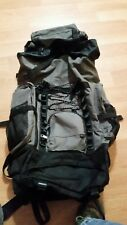 Western Pack Black and gray  Huge Hiking Adventure Travel Padded Backpack