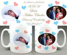PRINCE Louis Arthur Charles Cambridge #2 - ROYAL BABY MUG CUP - WILLIAM KATE DI