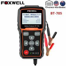 Foxwell BT705 Car Battery Load Tester & Charging System Analyzer 100-2000 CCA