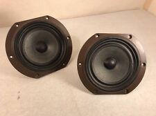 Set Of 2 B&W Bowers & Wilkins BZ200/220 Bass Mid Range Speaker Driver