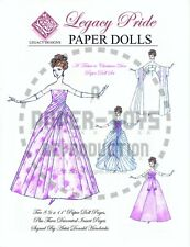 Reprint - Donald Hendricks Legacy Designs Paper Doll Catalog - Reproduction