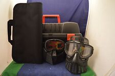 RARO Diabolik Paintball Equipment Custodia Con due maschere (dimensioni SCONOSCIUTE) rd6162