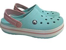Crocs Crocband Clog beach water Comfortable Slip on Casual Water Shoe Womens 7