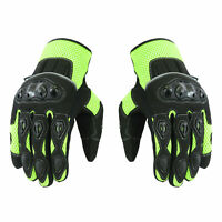 Mens Summer Motorcycle Motorbike Gloves Knuckle Protection Riding Sports Gloves