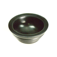Black Stone Smudge Pot 4.5inch diameter Incense Bowl Charcoal Burner C53 Ritual