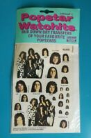 Popstar Watchits - SLADE - Letraset Rub-down Transfers - 1975 -