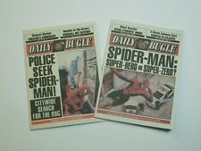 2 Pack - 1/6 Scale Newspaper - Daily Bugle for Spiderman Peter Parker