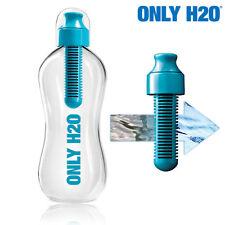 Botella con filtro de carbono Only H2O reduce olor a cloro quita contaminantes