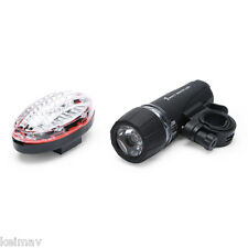 5W White LED Bicycle Head Light (Black)