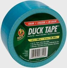 "NEW Duck Tape Duct Tape 1.88"" x 20 Yd. Aqua Color, Color Coding Crafts 1265020"
