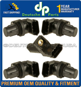 Mercedes W203 W211 W164 W221 Camshaft CAM + Crankshaft Position Sensors - Set 5