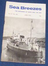 SEA BREEZES JUNE 1973 VOLUME 47 NUMBER 330 - HAVERFORD OF 1901