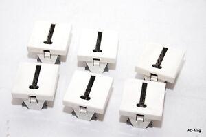 x6 - Prise téléphonique en T - 45 (2 modules)- LEGRAND Mosaic 074388 - occasion