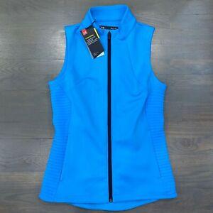 Under Armour Storm Daytona Vest Capri Blue 1317388-4198 Women's Size Small New