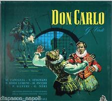 Verdi: Don Carlo / Previtali, Rossi-lemeni / Picchi / Stignani Caniglia LP Cetra