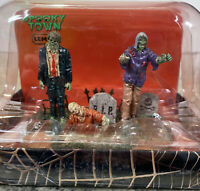 Spooky Lemax Halloween Village The Dead Return Zombie Graveyard Table Accent