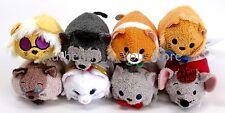 "NEW US Disney Store ARISTOCATS Tsum Tsum Collection 3.5"" Mini Plush Set of 8"