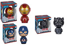 Funko Pop! Dorbz Civil War - Captain America Black Panther Iron Man