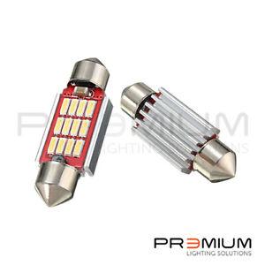 FOR VW GOLF MK4 MK5 XENON WHITE CANBUS ERROR FREE NUMBER PLATE LED LIGHTS BULBS