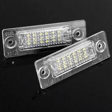 2 Bulbs LED License Number Plate Light For VW T5 Touran Golf Jetta Passat OSZ