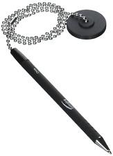 "Integra Security Pen Chain, Anti-microbial, 24"" Long, Black ITA38648"