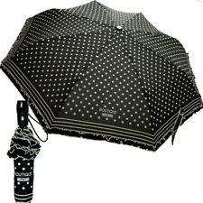 Ombrello Moschino Nero con pois Openclose Umbrella