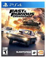 Fast & Furious Crossroads PS4 Brand New Factory Sealed Sony PlayStation 4