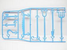 Playmobil Jardin Ferme - Outils marteau hache serpe fourche scie Bêche AC1351