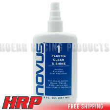 Novus #1 Plastic Polish & Scratch Remover, 8oz. Spray Bottle