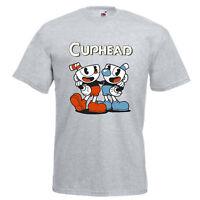 CUPHEAD INSPIRED GAMIING T SHIRT