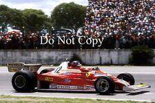 Gilles Villeneuve Ferrari 312 T2 Argentine Grand Prix 1978 Photograph 2