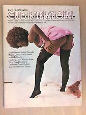 RARE REVUE EROTIQUE VINTAGE EN ANGLAIS / CLUB INTERNATIONAL 3-12 / 12/1974 +++