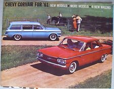 1961 CHEVROLET CORVAIR SALES FOLDER