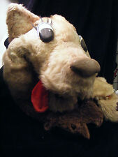 "Antique Wolf Hand Puppet Large 28"" inch (71 cm) from A.P.A. Studios Lee Howard"
