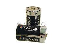 2 x Polaroid D Size Heavy Duty Battery