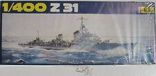 Heller 1048 - Z31 Z 31 - 1:400 - Schiff Zerstörer Modellbausatz - Model KIT