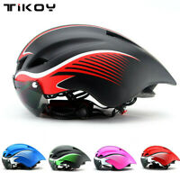 MTB Road Bike Helmet Bicycle Triathlon Sport Cycling Helmet With Goggles Visor