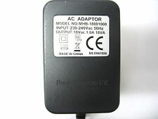 1A 18V ALTO ZMX862 MIXER AC/AC OUTPUT MAINS POWER ADAPTOR/SUPPLY/TRANSFORMER