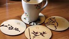 UK Random Cork Wood Drink Coaster Tea Coffee Cup Pads Sinicism Tableware Mat ILC