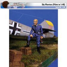 Andrea Miniatures SW05 German Pilot at Rest I 1/48 scale metal model Figure