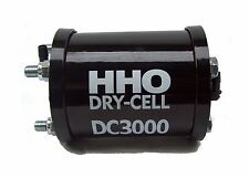 Save Fuel. DC3000 HHO Dry Cell. HHO production for engines 2.5 - 4.2 Litres.