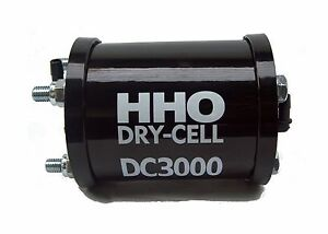 DC3000 HHO Dry Cell. HHO production for engines 2.4 - 3.6 Litres.