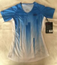 100% Airmatic Womens Bike Jersey Blue 2018, Size small, New with tags